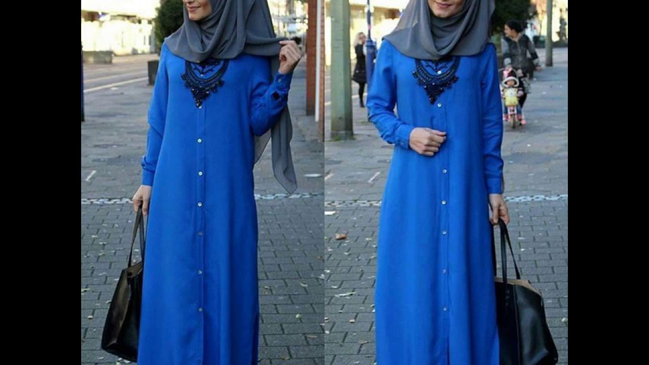Casual Hijab Fashion Style 2017 3 Youtube