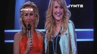 Leonie Meijer en Marco Borsato met Ik leef niet meer voor jouw in The voice of holland de Finale