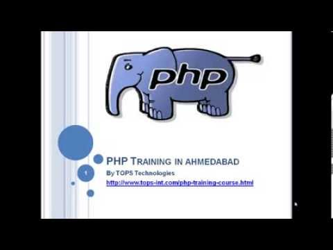 Php Training in Ahmedabad for Students and Fresher's