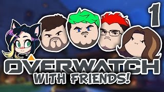 ►Overwatch w/ JackSepticEye, Markiplier, Egoraptor, Barry, and Fey ► PART 1 - Kitty Kat Gaming