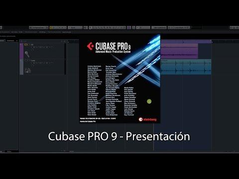 Steinberg Cubase PRO 9 - Presentación de sus Novedades.