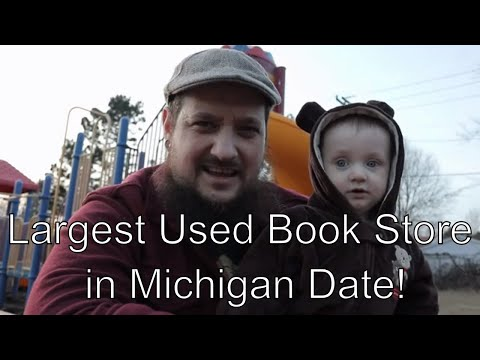 Largest Used Book Store in Michigan Date!