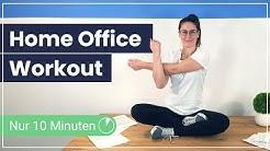 Das ideale Home Office Workout - 10 Minuten aktive Pause für Deine Gesundheit ✅