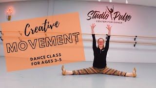 Creative Movement for ages 3-5, 17 min