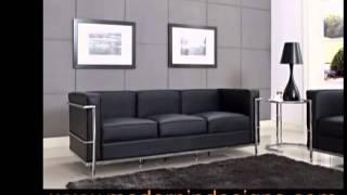 Lc Sofa Set - Le Corbusier Replica Lc2 Lc3 Lc5 Arm Chair Couch Sale