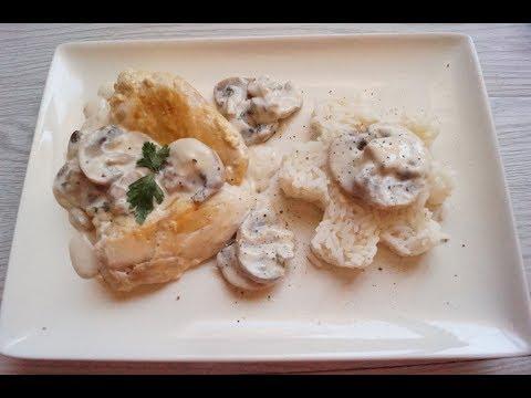 poulet-sauce-aux-champignons-extra!!!