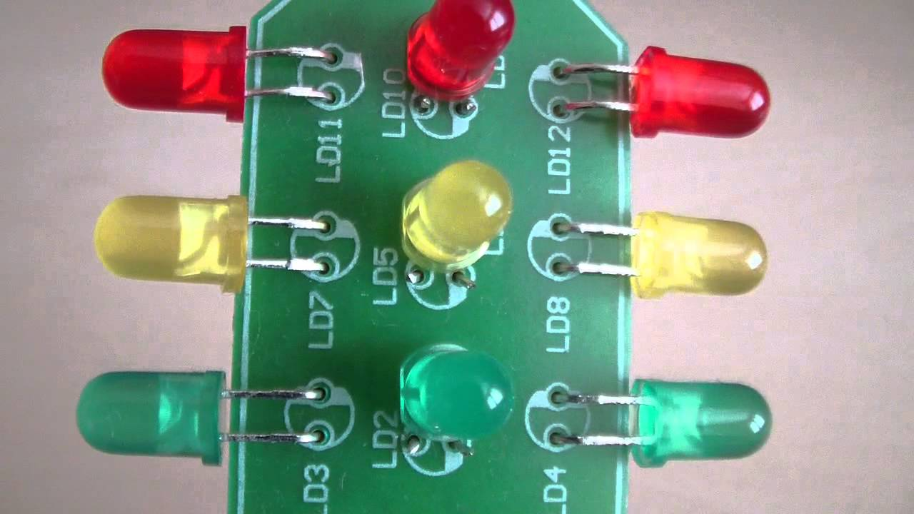 Velleman Mk131 Perfect Homemade Traffic Light Youtube Schematic