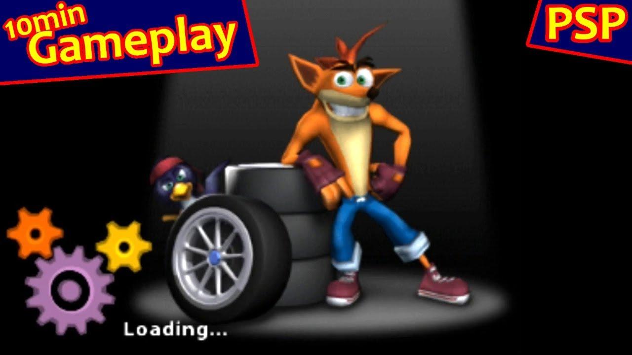 Crash Tag Team Racing     (PSP)