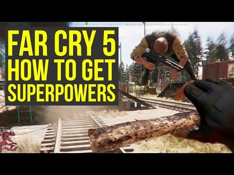 Far Cry 5 Tips and Tricks HOW TO GET SUPERPOWERS (Far Cry 5 Tips Tricks - FarCry5 - Farcry 5)