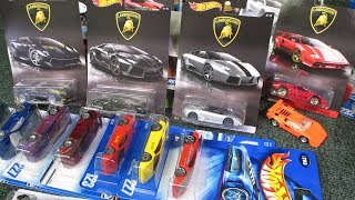 Hot Wheels Lamborghini Collection by Race Grooves, Lambo's!