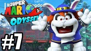 TRUDNY PRZECIWNIK! - Let's Play Super Mario Odyssey #7 [NINTENDO SWITCH]