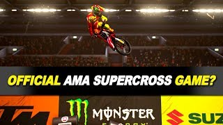 2018 Official AMA Supercross Videogame?! - All Aboard The Hype Train?