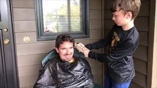 Principal's Log 4.12  - Distance Learning Hooray Lucky Spin Reward #1:  Mr. Jett Gets a Haircut!