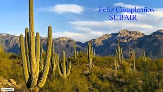 Subair  Nature & Naturaleza - Happy Birthday