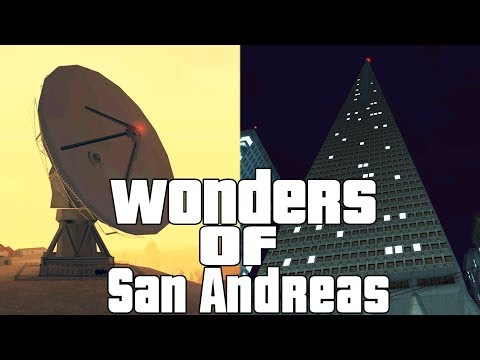 7 Wonders / 7 Divů San Andreas