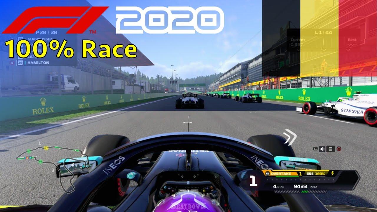 F1 2020 - Let's Make Hamilton 7x World Champion #14: 100% Race Belgium