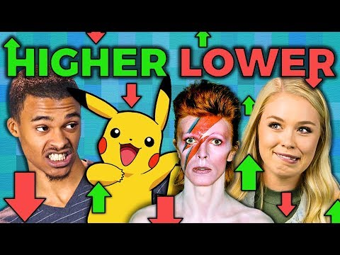 HIGHER or LOWER GAME React: Gaming
