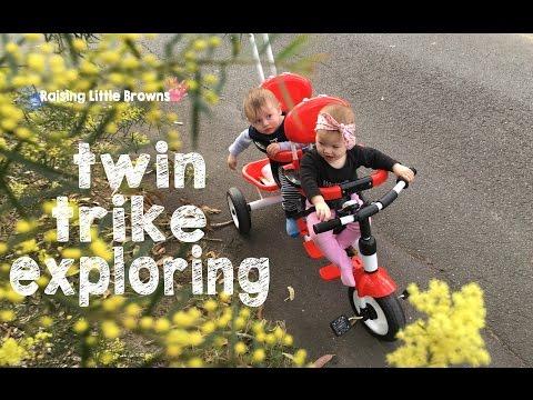 TWIN TRIKE EXPLORING | Raising Little Browns