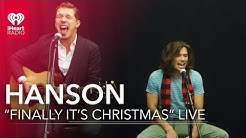 "Hanson Performs ""Finally It's Christmas"" 