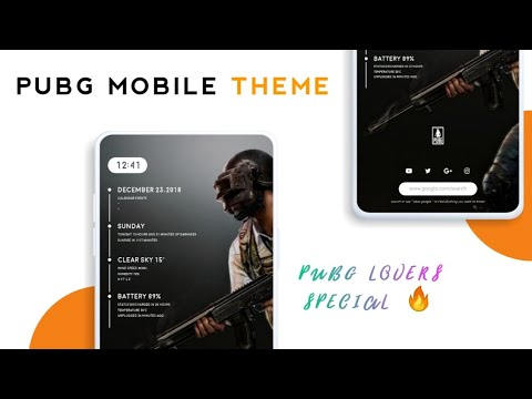 PUBG Android Theme - Best Nova Launcher Setup For PUBG FANS