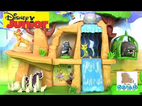 Видео для Детей! Львиная Гвардия Мультик  LION GUARD DEFEND THE PRIDE LANDS Игрушки для Мальчиков