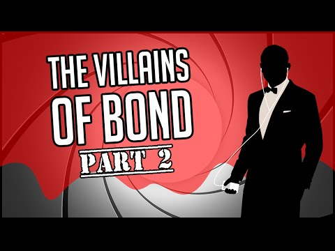 The Villains of Bond (Part 2) | James Bond Radio Podcast #035