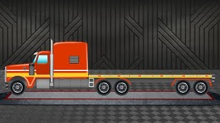 Flatbed Truck | Trucks for Kids | Toy Truck
