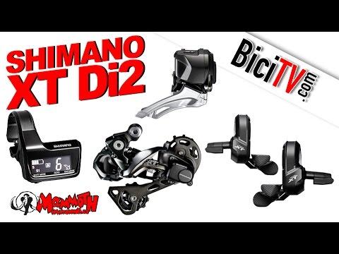 Shimano XT Di2 Electrónico en Tiendas Mammoth