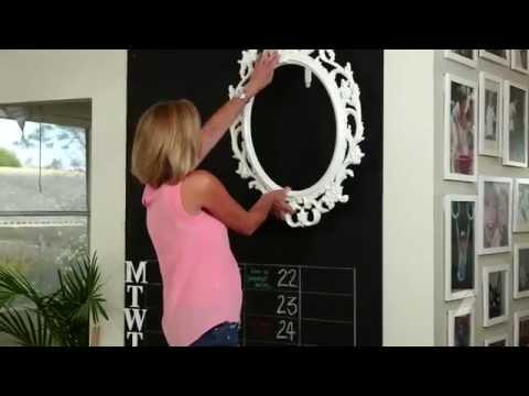 Chalkboard Command Center - Family Organiser