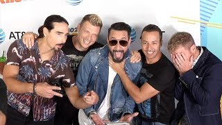 Backstreet Boys 2018 iHeartRadio Wango Tango Blue Carpet