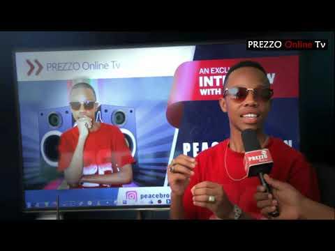 Exclusive Interview With Peace Brown In PREZZO ONLINE TV Studio