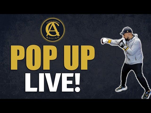 Coach Anthony Q.A Random Pop Up Live!