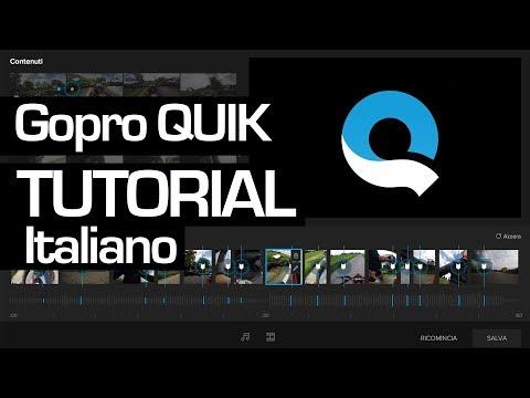 Quik APP - TUTORIAL COMPLETO   Guida per montare video ITA