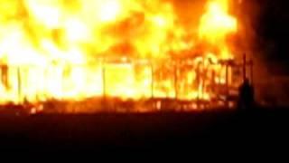 2 Story House Fire