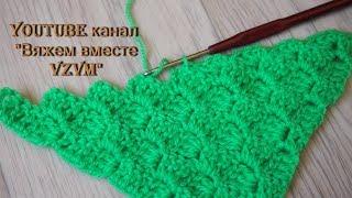 ▼с2с крючком. Вязание по диагонали Урок 91   C2C hook. Knitting on the diagonal
