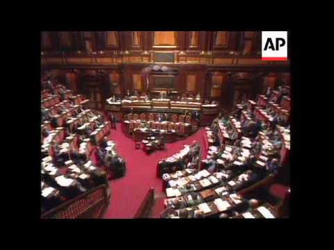 Italy - Dini's Budget Wins Vote Of Confidence