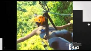 Video Kendall Jenner Takes Scary Leap on Zip-Line download MP3, 3GP, MP4, WEBM, AVI, FLV Agustus 2017