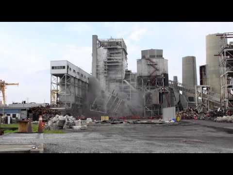 Sutton Plant Boiler #2 Implosion