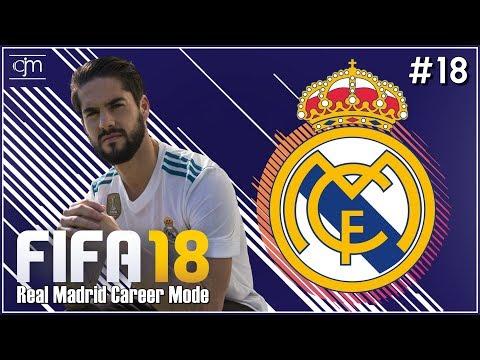 FIFA 18 Real Madrid Career Mode: El Clásico Campeonato de España #18 (Bahasa Indonesia)