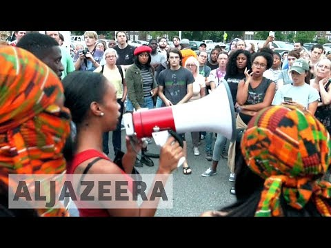 Protests continue for fourth night amid days of unrest in St Louis