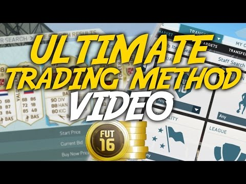 FIFA 16: ULTIMATE TRADING METHOD VIDEO | TRADE FROM 0 TO 500K!! (AMAZING TRADING METHODS)