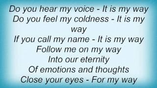 Crematory - My Way Lyrics
