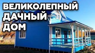ОФИГЕННАЯ ПЛАНИРОВКА 8,5х8,5 дачный дом по проекту заказчика