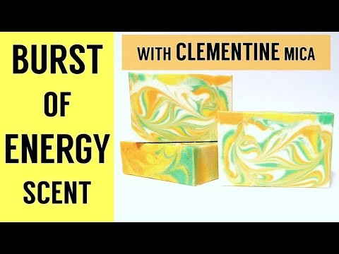 Burst of Energy Cold Process Soap