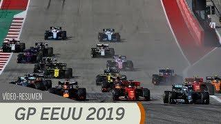 Resumen del GP de los Estados Unidos - F1 2019