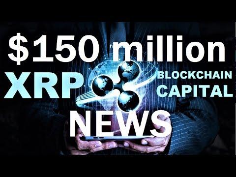RIPPLE BREAKING NEWS:  $150 million blockchain focused fund