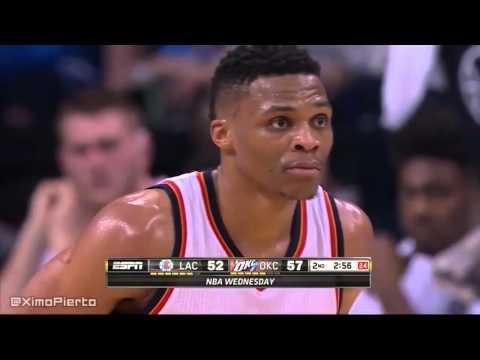 LA Clippers vs Oklahoma City Thunder - Full Game Highlights | March 9, 2016 | NBA 2015-16 Season