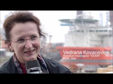 Interview to the Principal Investigator of the ESAW Cruise
