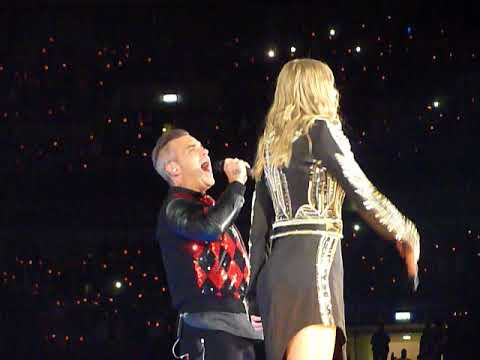 Angels - Taylor Swift and Robbie Williams @ Wembley Stadium on 23.6.18n