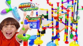 Marble Run Extreme Set Toy Play For Kids - New Lights and Sounds Pieces